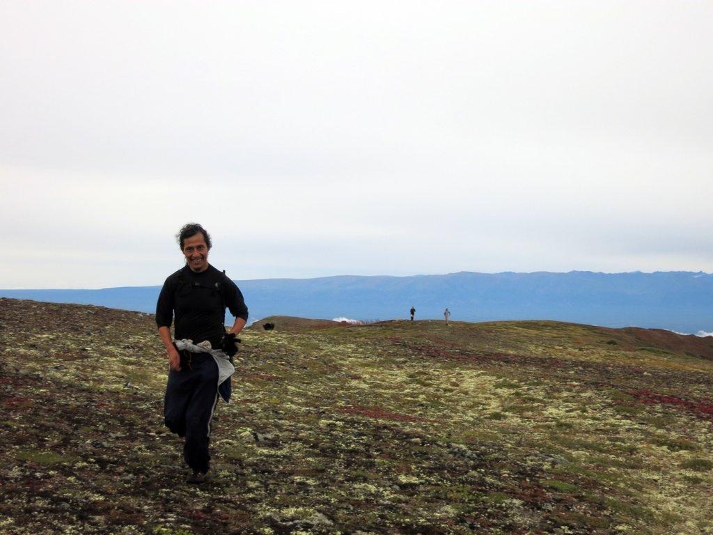 Heading to Mount Eklutna
