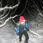 Jessie Heading up - Mount POW/MIA