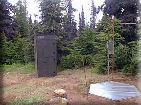 Anchorage Hillside SNOTEL site