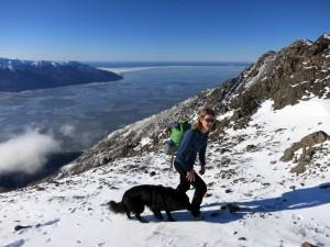 3/8/2014 - McHugh Boomerang, nearing the top of the ridge